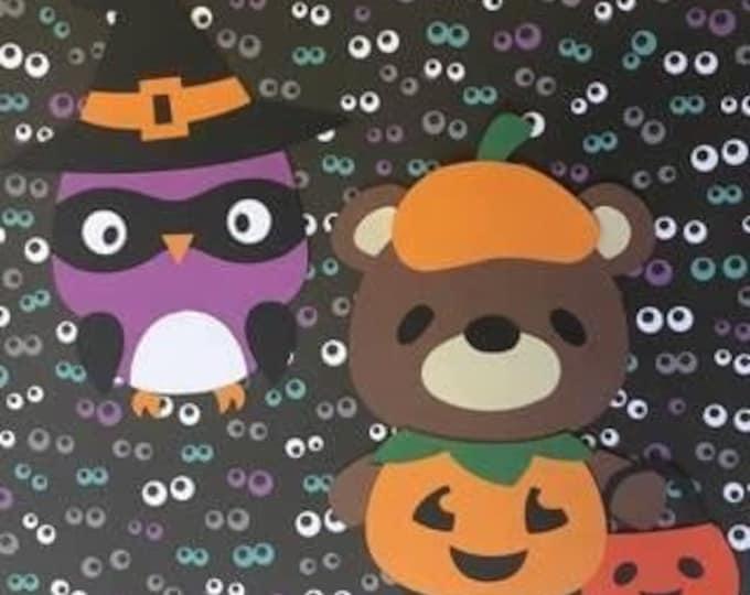 6 Halloween Craft Sets