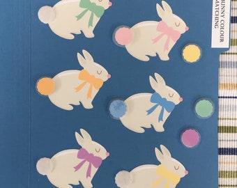 Bunny Colour Matching Folder