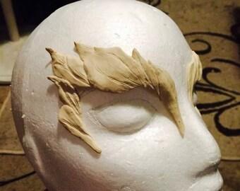 Poison ivy eyebrow prosthetic