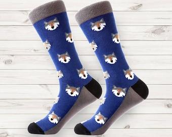 a71f3a72d83 mens socks | fun mens dress socks | fox men sock | wolf socks | wedding  socks | patterned socks | mens dress socks