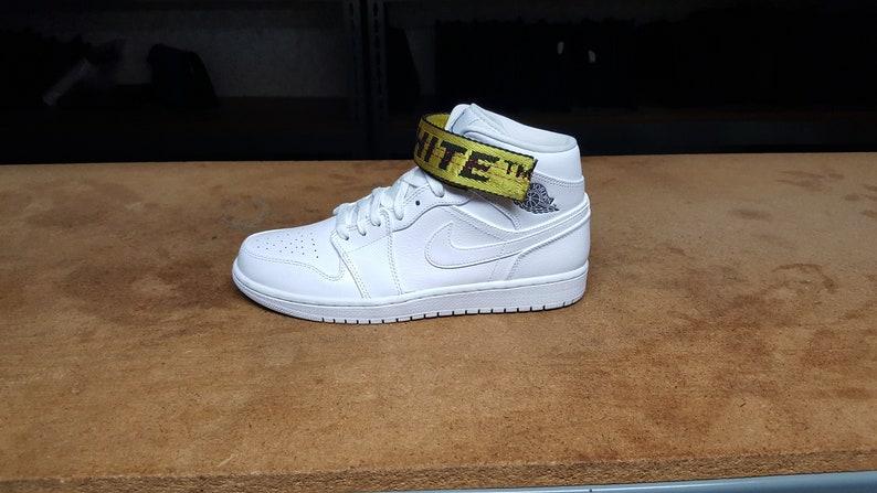 reputable site fb0c1 fa9d1 OFF-WHITE Nike AJ1 STRAPS