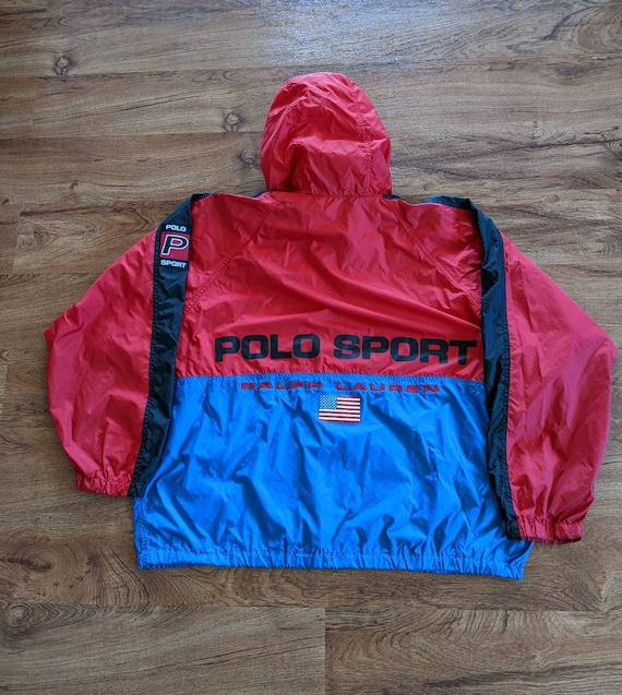 Vintage 90s Polo Sport windbreaker