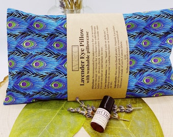 Duo Sweet Dreams - Lavender Eye Pillow - Essential Oil Roller - Sleep Support – Natural -  Pampering Gift - Relaxation Gift - Aromatherapy