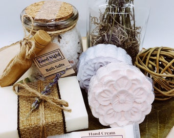 Natural Gift Box-Relaxation-Aromatherapy-Personalized gift-Portion donated to Alzheimer's Association