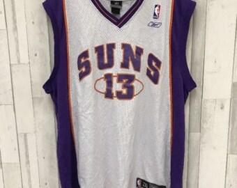 1e318c46932 Steve Nash #13 Phoenix Suns NBA Adidas Jersey Size 2XL Swingman