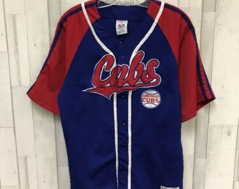 9c0d702d Chicago Cubs True Fan MLB Jersey Size L Blue