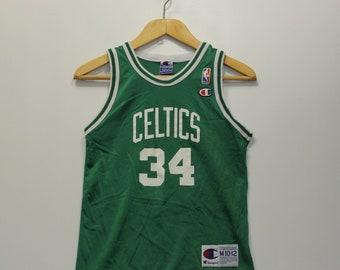 af5d4072f8c5 Vintage Paul Pierce Boston Celtics Champion NBA Jersey Youth Size Medium  10-12