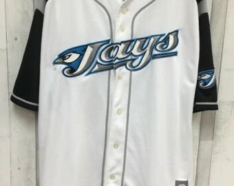 528701b7672 Toronto Blue Jays Vernon Wells Majestic MLB Jersey White Black