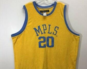 831109fd Vintage Gary Payton #20 Mpls Lakers NBA Reebok D'funkd Jersey Sz 2XL LA  Towel