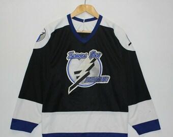 pretty nice 05fcb 3cc3b Tampa bay lightning jersey | Etsy