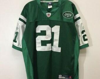 738a83abc40 New York Jets #21 LaDainian Tomlinson NFL Reebok On Field Authentic Jersey  Sz 52