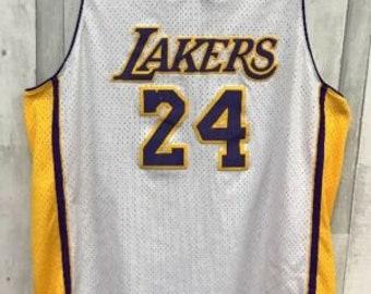 ab79a9334b1a Kobe Bryant Los Angeles Lakers NBA Adidas Jersey Size XL White