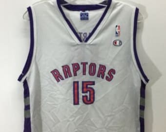 30ba2696c4a Vintage Vince Carter Toronto Raptors NBA Champion Jersey Youth Size XL 18-20