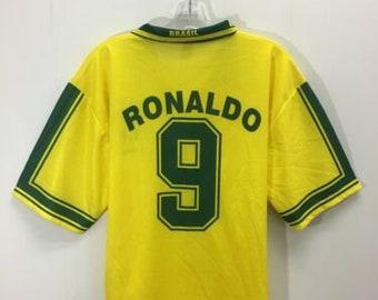 huge discount 9548b d50f1 Ronaldo brazil | Etsy