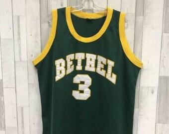 dad12140abb0 Vintage Allen Iverson Bethel High School Legends Jersey Size 54