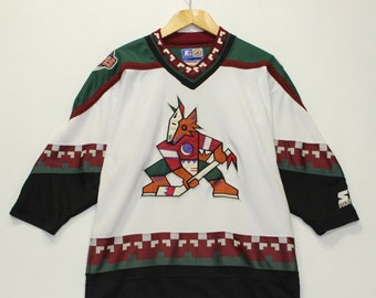 purchase cheap 85a6f 1723d Coyotes jersey   Etsy
