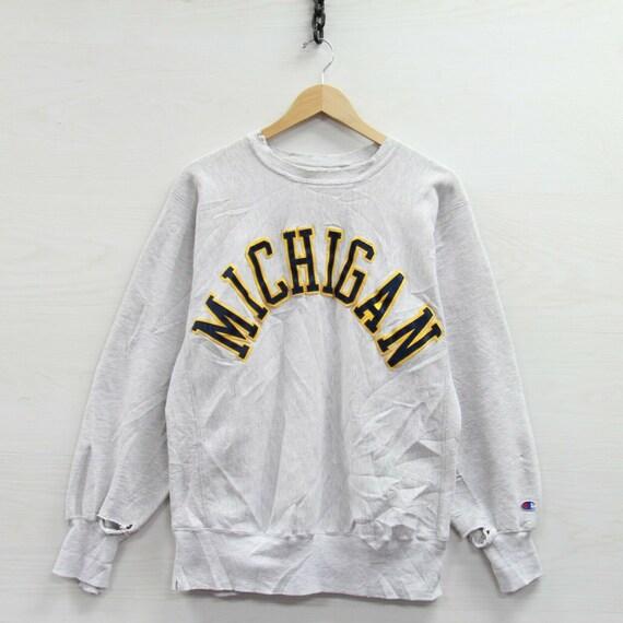 Vintage Michigan Wolverines Champion Reverse Weave