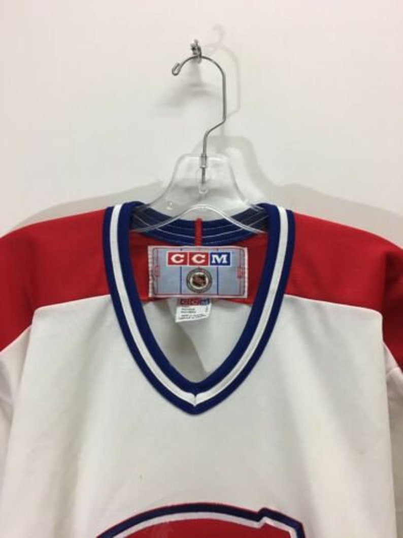 sports shoes clearance prices temperament shoes Vintage Montreal Canadiens CCM NHL Hockey Jersey Mens Size | Etsy