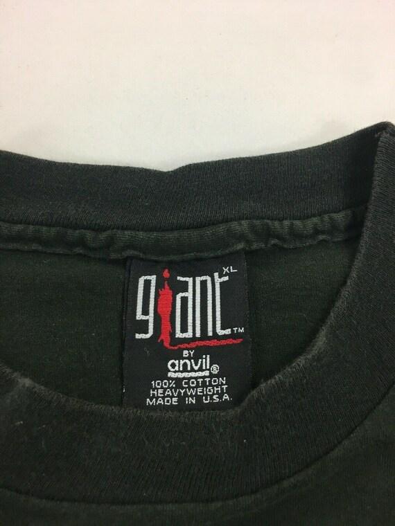 Vintage 1993 Aerosmith Get A Grip Band Rock Tour T Shirt Size XL Black Giant