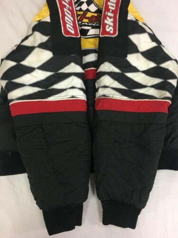 Vintage Ski Doo Bombardier Insulated Jacket Size Medium