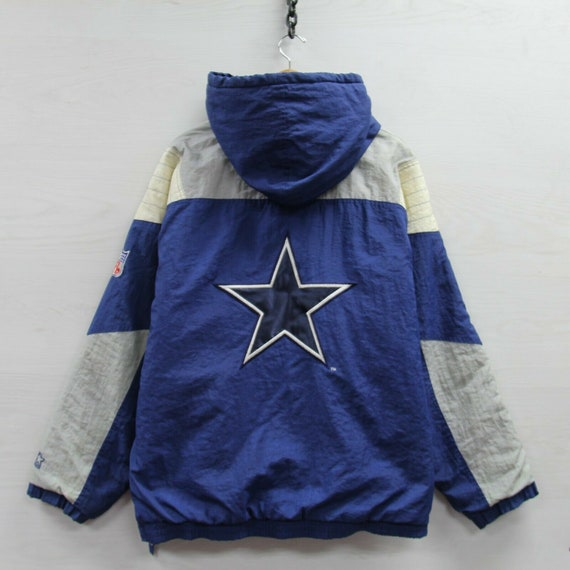 Vintage Dallas Cowboys Starter 1/2 Zip Insulated H