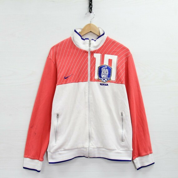 Vintage Korea Football Association Nike Track Jack