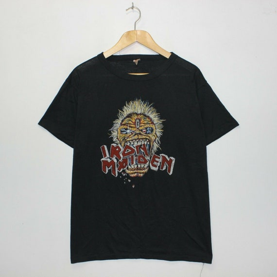 VTG Iron Maiden 80s Seventh Son Of A Seventh Son … - image 1