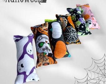 "Mini 4.5"" Halloween Themed Catnip or Silvervine Blend Kicker Stick Cat Toy"