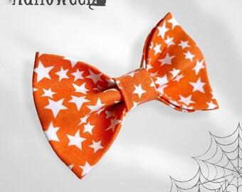 Spooky Stars Glow in the Dark Pet Bow Tie
