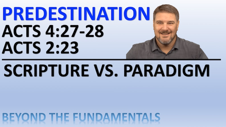 PowerPoint file. Predestination  Acts 4:27 image 0