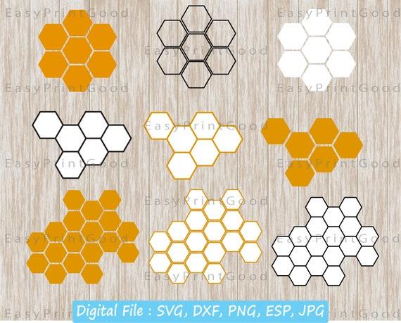 Honeycomb Svg Honeycomb Background Honeycomb Clipart Etsy