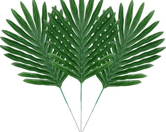 Palm Leaf 10x12 FT Photography Backdrop Hand Drawn Stylized Leaves Framework Floral Environment Theme Background for Baby Birthday Party Wedding Vinyl Studio Props Photography