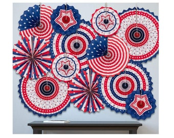 4th of JULY PATRIOTIC YARD DECORATION/> WIND SPINNER MEMORIAL DAY RED SOX Deco