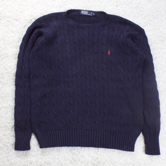Vintage Polo Ralph Lauren Cable Knit Sweater