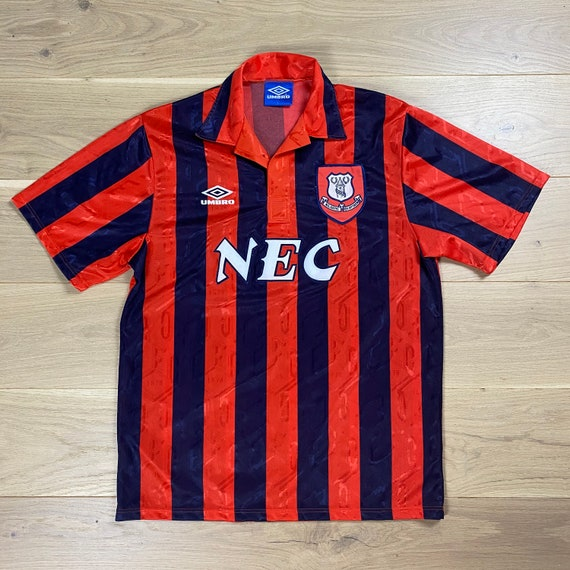 Vintage Umbro Everton 92-94 Away Football Shirt