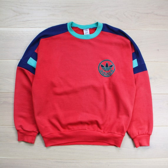 Vintage 70s Adidas Sweatshirt Pullover
