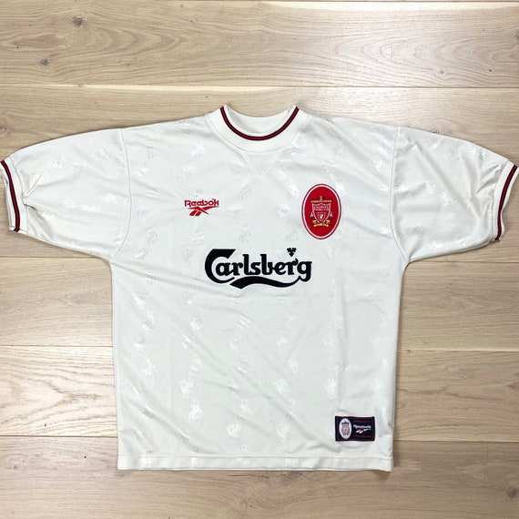 Vintage Reebok Liverpool 96-97 Football Shirt