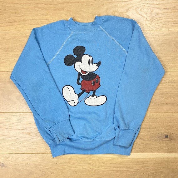 Vintage 80s Disney Mickey Mouse Women's Sweatshirt