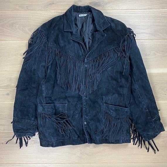 Vintage 70s Suede Leather Jacket