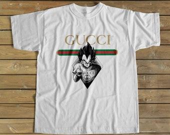 a8b7f73b50b8 Gucci Shirt, Gucci Goku Vegeta shirt, Gucci tshirt, Gucci T shirt, Dragon  Ball Z shirt, Designer Shirt, Classic Gucci Shirt, Birthday Gift