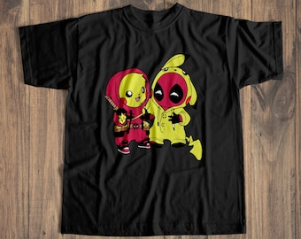2ca52052378d7 Deadpool t shirt