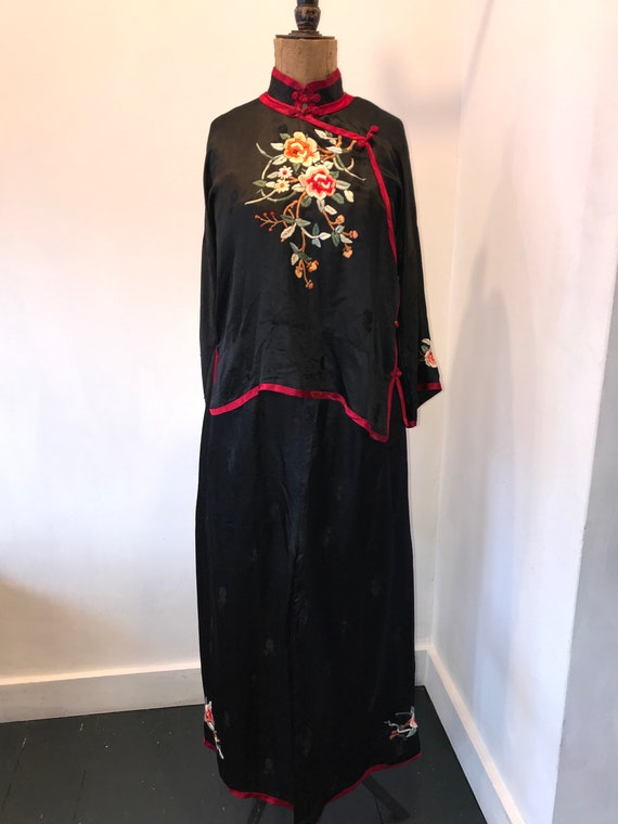 Increible 1920s Chinese vintage Pyjamas - image 3