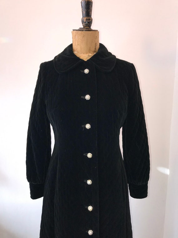 Amazing 1960s Maxi Quilted Coat