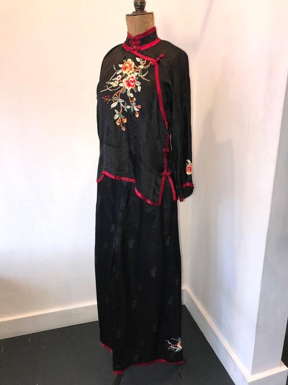 Increible 1920s Chinese Pyjama Set