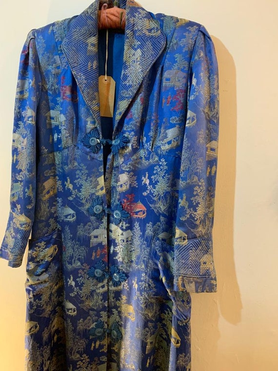 1940s Chinese Silk Coat