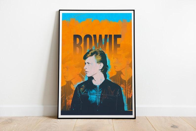 DAVID BOWIE ZIGGY STARDUST Album Wall Art Posters A3//A4