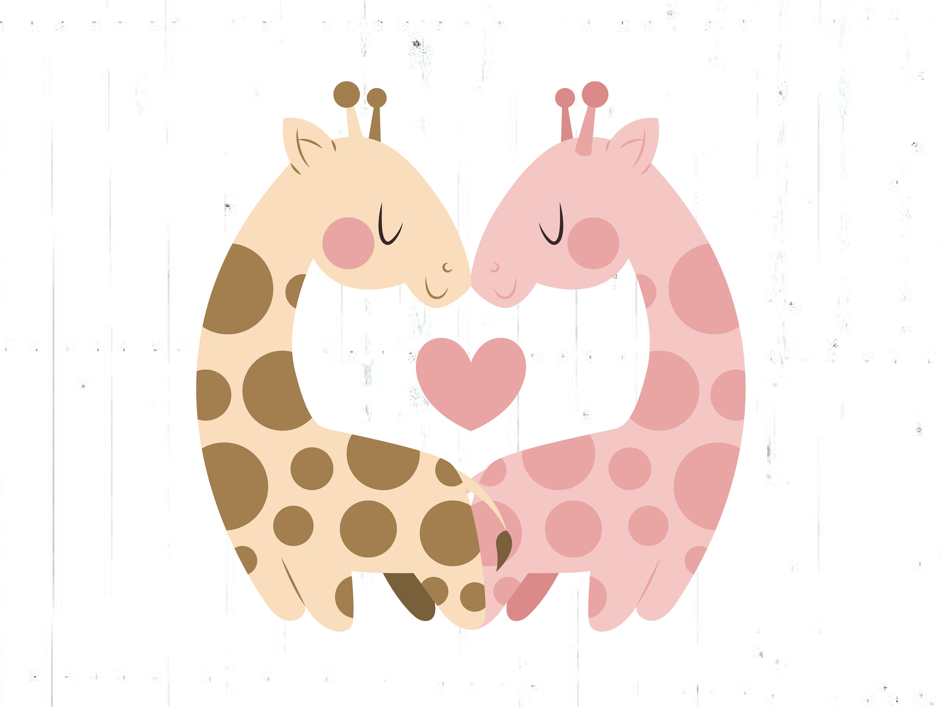 Baby Giraffe Svg Giraffe Cut File Giraffes Baby Shower Svg Etsy