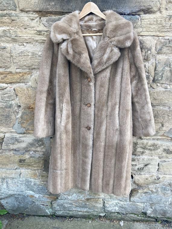 1970s fake fur coat