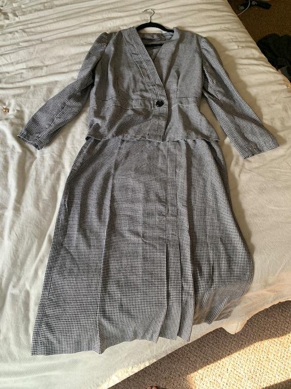 Handmade 50s/60s houndstooth suit
