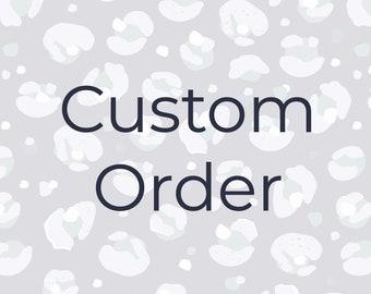 Custom Order - B2B Services